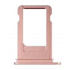 Сим-лоток с уплотнителем для iPhone 7 Розовое золото (Rose gold)