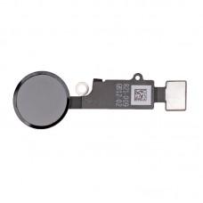 Шлейф кнопки Hоme для iPhone 7 Черный Оникс (Jet Black), Оригинал