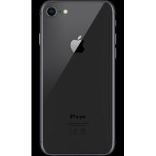 Стекло задней крышки iPhone 8 Черная оригинал