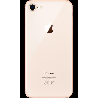 Купить Заднее стекло корпуса для iPhone 8 Золотое Оригинал