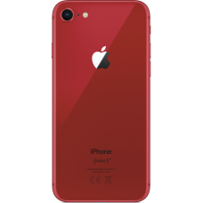Задняя крышка iPhone 8 красная (Product Red)