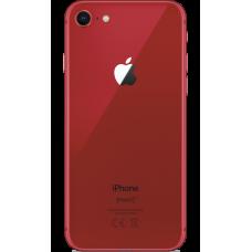 Стекло задней крышки iPhone 8 красная (Product Red) оригинал