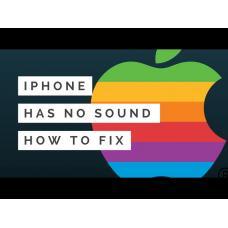 Не работает звук на айфоне - лучшее решение