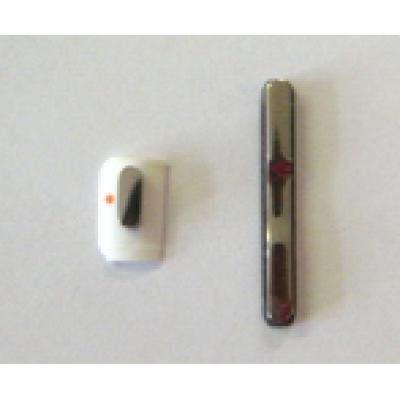 Кнопка громкости и MUTE iPhone 3G/Gs белая