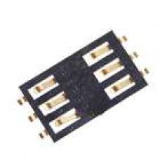 Коннектор сим-карты iPhone 3G оригинал