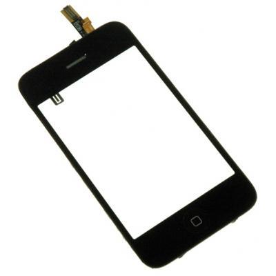 Стекло для iPhone 3Gs в сборе с рамкой сенсорное оригинал