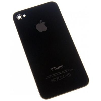 Задняя крышка для iPhone 4S черная OEM оригинал