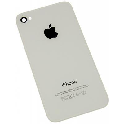 Задняя крышка для iPhone 4S белая OEM оригинал