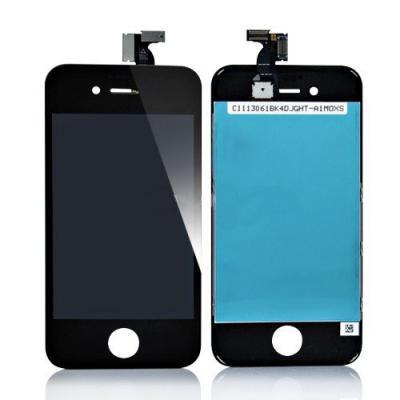 Экран iPhone 4S (дисплей) - черный OEM оригинал