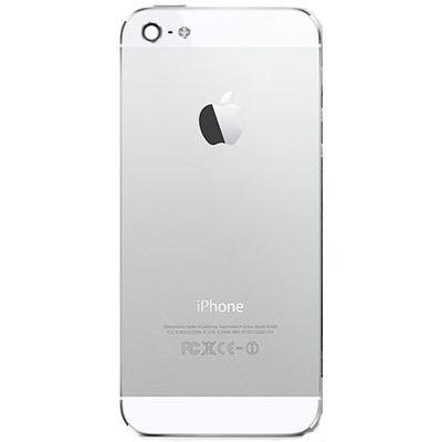 Корпус iPhone 5 (задняя крышка): белый оригинал