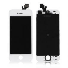 Дисплей для iPhone 5 в сборе со стеклом белый OEM оригинал