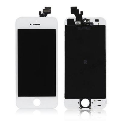 Экран iPhone 5 (дисплей) в сборе белый OEM оригинал