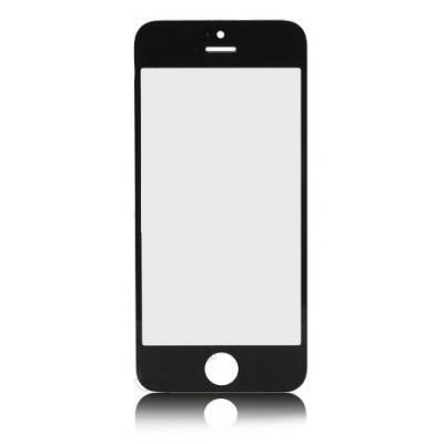 Стекло для iPhone 5 черное оригинал