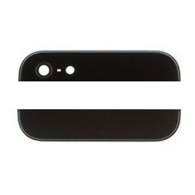 Стеклянные вставки корпуса iPhone 5 чёрного цвета