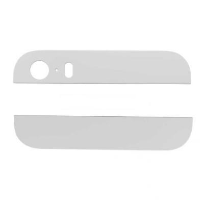 Стеклянные вставки корпуса iPhone 5S белые оригинал