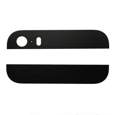 Стеклянные вставки корпуса iPhone 5S черные оригинал