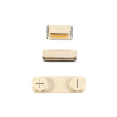 Набор кнопок для iPhone 5S Gold оригинал