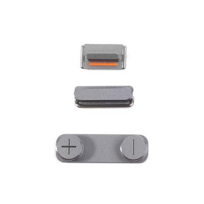 Набор кнопок для iPhone 5S Space Gray оригинал