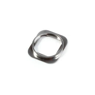 Металлическое кольцо кнопки Home iPhone 5S Silver