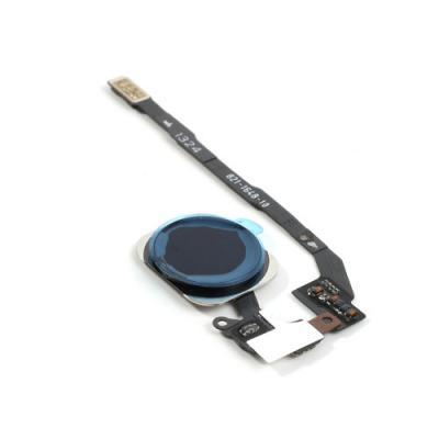 Кнопка Home с сенсором отпечатков Touch id и шлейфом iPhone 5S оригинал SpaceGray