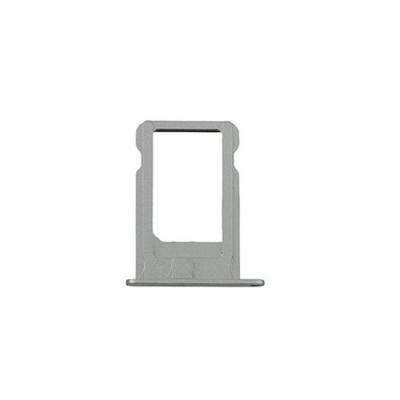 Лоток сим карты для iPhone 5S Silver оригинал