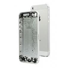 Корпус iPhone 5S Silver (белый) оригинал