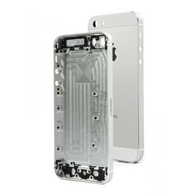 Корпус для iPhone 5S (задняя крышка) Silver оригинал