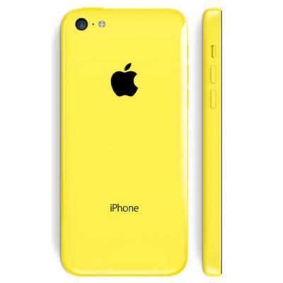 Корпус iPhone 5C желтый оригинал