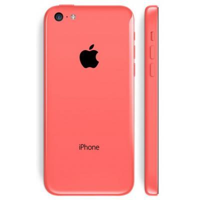Корпус iPhone 5C красный оригинал