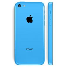 Корпус iPhone 5C голубой оригинал