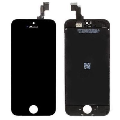 Дисплей iPhone 5C со стеклом черный OEM оригинал
