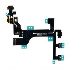 Шлейф кнопок управления (питания, громкости, mute) iPhone 5C оригинал