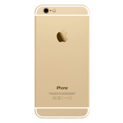 Корпус для iPhone 6 Gold (золотой) оригинал