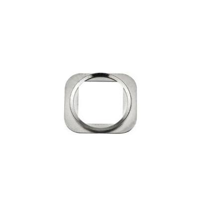 Металлическое кольцо кнопки Home iPhone 6 белое Silver