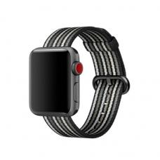 Текстильный ремешок New Canvas Band 42мм 44мм для Apple Watch Черный