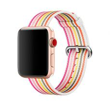 Текстильный ремешок New Canvas Band 42мм 44мм для Apple Watch Красный