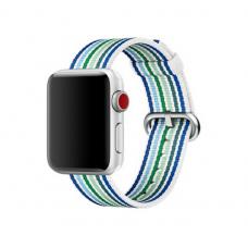 Текстильный ремешок New Canvas Band 42мм 44мм для Apple Watch Сини