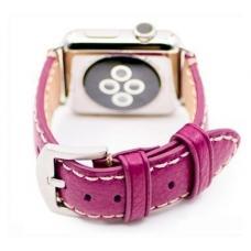 Ремень из эко-кожи New 42мм 44мм для Apple Watch Розовый