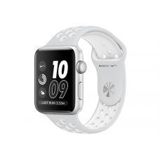 Силиконовый ремешок Nike 42мм 44мм для Apple Watch Белый