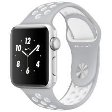 Силиконовый ремешок Nike 42мм 44мм для Apple Watch Серый