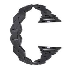 Металлический ремешок Braid Band 38мм-40мм для Apple Watch Черный