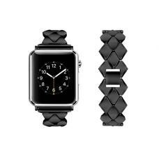 Металлический ремешок Braid Band 42мм 44мм для Apple Watch Черный
