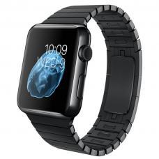 Металлический ремешок Link Bracelet 38мм-40мм для Apple Watch Черный