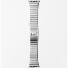 Металлический ремешок Link Bracelet 38мм-40мм для Apple Watch Серебристый