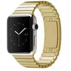 Металлический ремешок Link Bracelet 38мм-40мм для Apple Watch Золотой