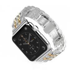 Металлический ремешок Metall Band 42мм 44мм для Apple Watch Золотой