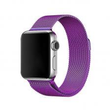 Металлический ремешок Milanese loop 38мм-40мм для Apple Watch Фиолетовый