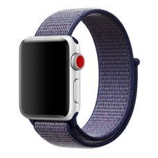 Нейлоновый ремешок Nylon loop 42мм 44мм для Apple Watch Фиолетовый