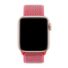 Нейлоновый ремешок Nylon loop 42мм 44мм для Apple Watch Красный