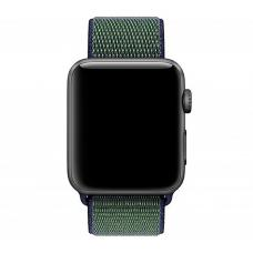 Нейлоновый ремешок Nylon loop 42мм 44мм для Apple Watch Хаки
